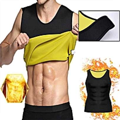 Sleeveless Slimming Belly Men Vest Body Shaper image 1