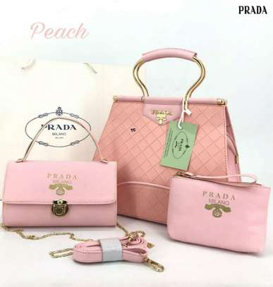 Attractive Look New Design Combo Prada 3 Pcs Combo Set