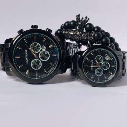 Montblanc Couple Watch Plus Bracelets