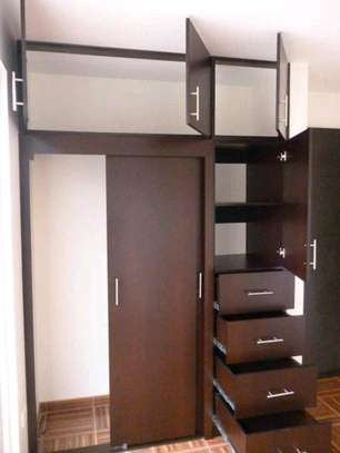Wall Fixed Cupboard With Drawer
