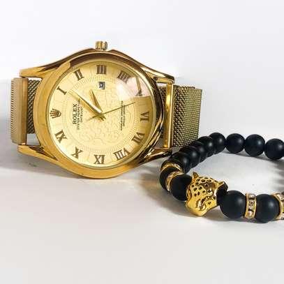 New watchs + bracelet image 1