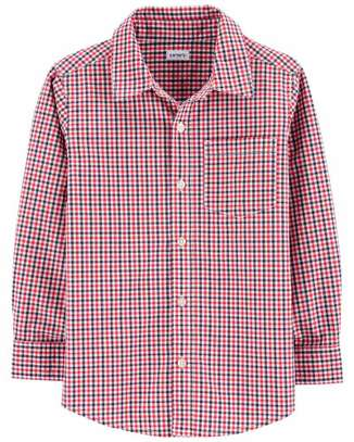 Giangham Button Front Shirt image 1
