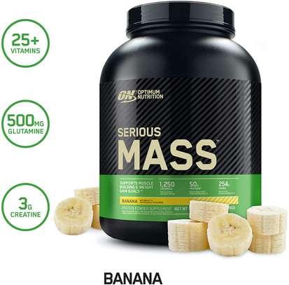 Serious Mass- Weight Gainer Supplement- 2.72 Kgs image 2
