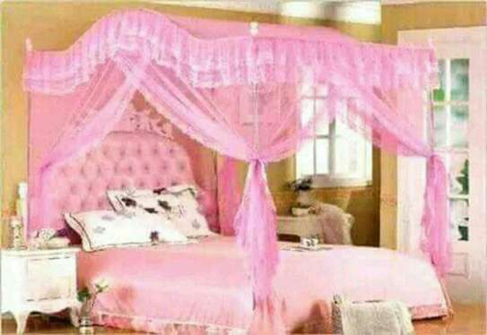 luxury Bed Canopy Dome Hanging Mosquito Net image 1