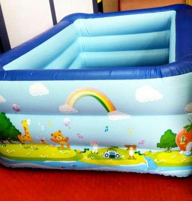 Luxurious Rectangular Swimming Pool