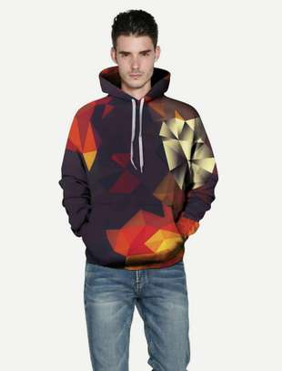 Abstract Hoodies
