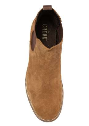 Crevo Original Suede Leather Chelsea Boots