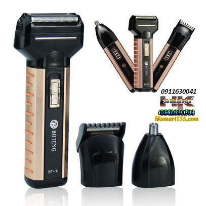Kemei KM-1120 – 3 in 1 Shaver, Hair Clipper & Nose Trimmer image 1