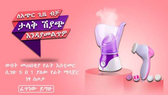 Facial Steamer With Beauty Care Massage image 1