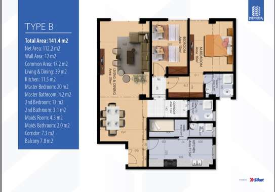 Luxury Apartment for sale image 4