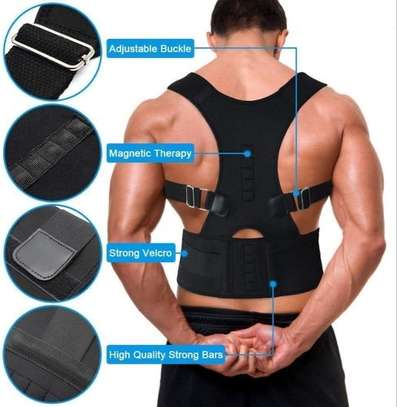 Real Doctor Magnetic Posture Support Brace image 1