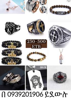 Rings, Bracelets and Necklaces