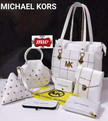 SET OF 7 MICHAEL KORS HANDBAG image 1