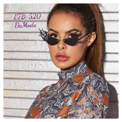 Flame Shaped Lens Sunglasses
