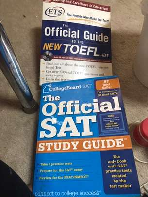 SAT and TOFEL guide book image 1