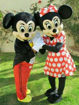 Mini and Mickey Mouse Outfit