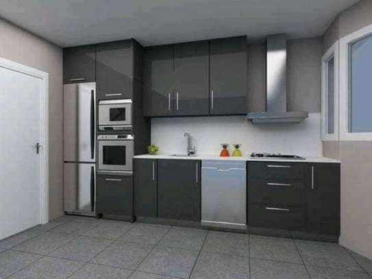 Grey Kitchen Cabinet