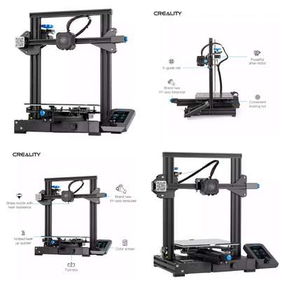 CREALITY Ender-3 V2 3D Printer; Mainboard With silent TMC2208 Stepper Drivers; New UI & 4.3 Inch Color LCD; Carborundum Glass Bed 3D Printer image 8