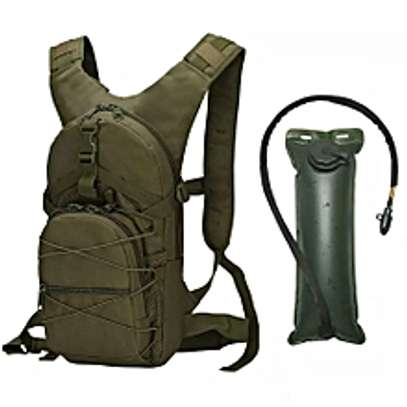 Military Tactical Hydration Waterproof Camel bag image 1