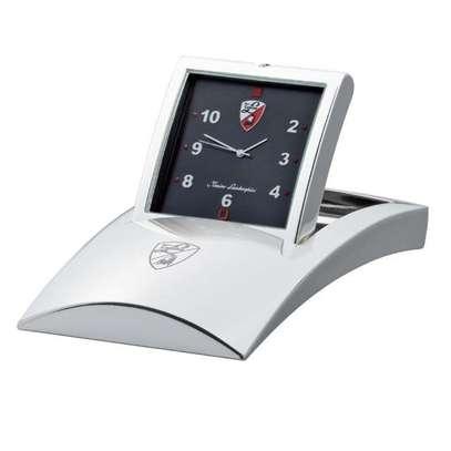 Lamborghini Silver Plated Foldable Clock image 2