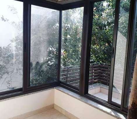 Modular Aluminum Corner Slider Window