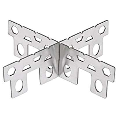 Stainless Steel Alcohol Stove Rack Cross image 1