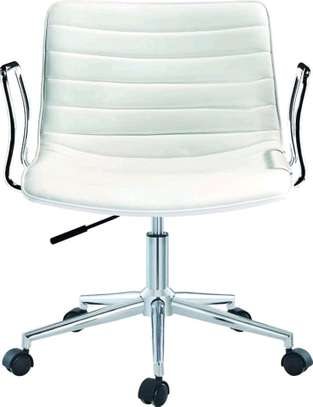 White Stock Holm office Chair image 1