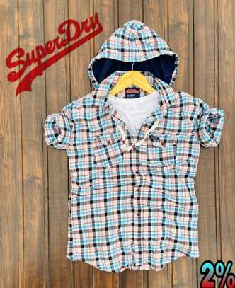 Superdry Shirts with Hoodie image 1