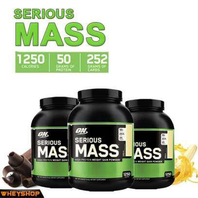 Serious mass- weight gainer supplement