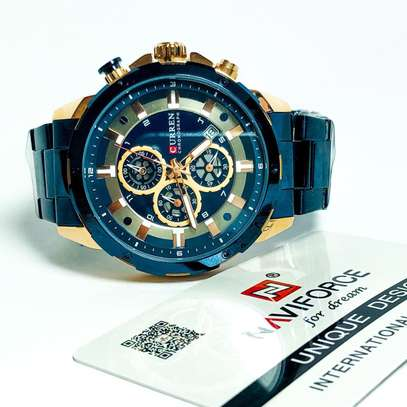 Curren Chronograph Watches image 2