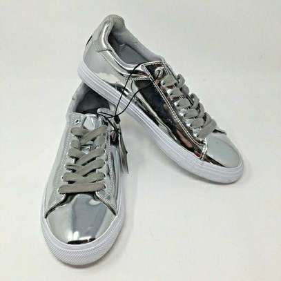 Silver New Fashion Men Original Zara Shoes