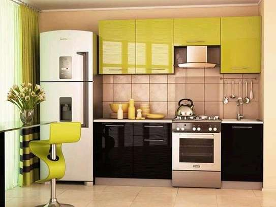 Simple And Modern Kitchen Cabinet