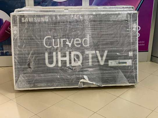 55 inch Samsung Curved 4k TV's image 1