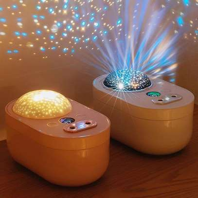2in1 Humidifier & Star Night Light Projector image 1