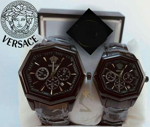 Versace Couple Watch