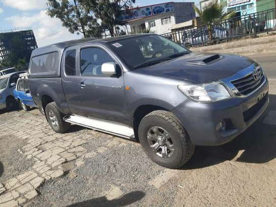 Toyota Hilux Extra Cab With Driver For Rent image 4