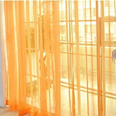 Tulle Translucent Window Curtain Drape image 1