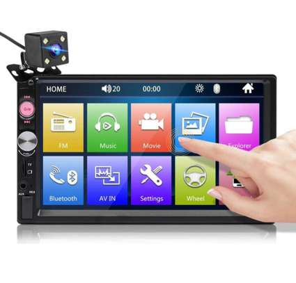Car Mp5 Player(7023B) 2 DIN with Camera/flash-Brand new