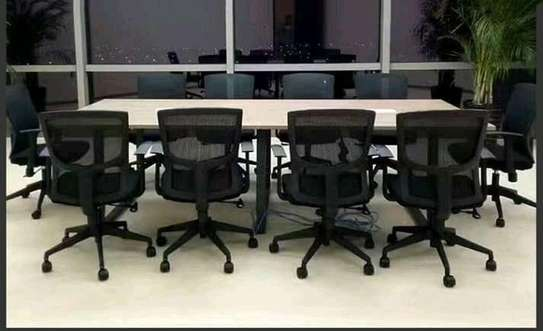 Office Meeting Table With Chairs