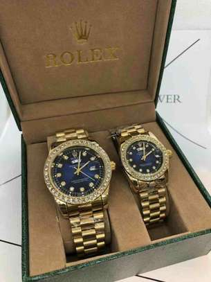Couples watch with brand box