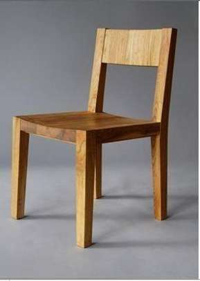 Simple Design Wooden Chair