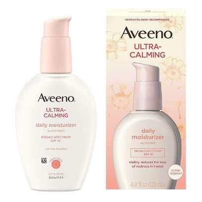 Aveeno Ultra Calming Daily Moisturizer Plus Sunscreen