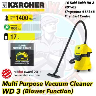 Karcher WD 3 Multipurpose Wet and Dry Drum Type Vacuum Cleaner