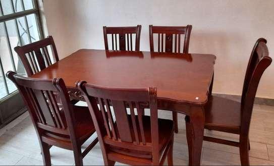 Alpha Furniture Dining Table 6 set image 1