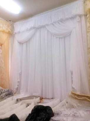 Quality Imported White curtain with fair price image 1