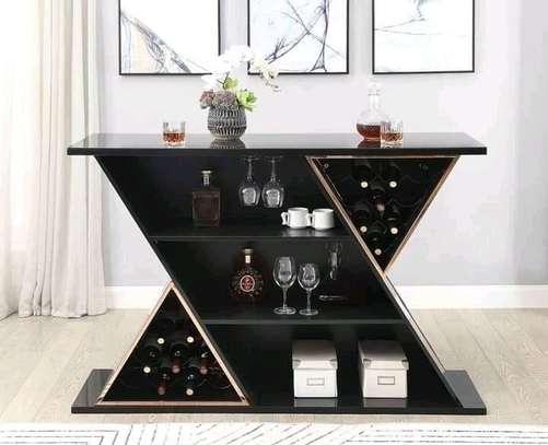 Wooden Bar Cabinet image 1