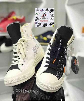 All Star Off White Shoes image 1