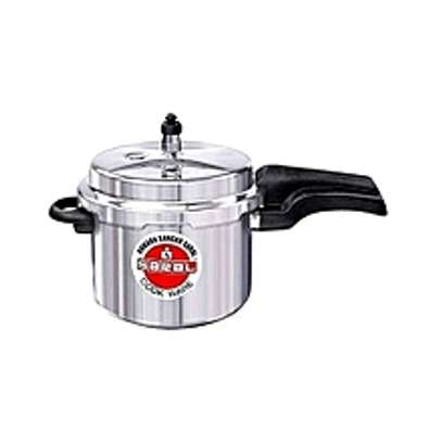 Saral Aluminum Pressure Cooker Outer Lid- 3 litres image 1