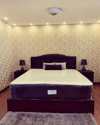 Bed Bedside With Thick Mattress