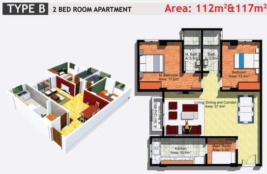 JAMBO REAL ESTATE 1 & 2 BEDROOM APARTMENT image 4